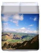 Scenic Waimea Canyon Duvet Cover