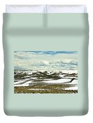Scenic Wyoming Duvet Cover