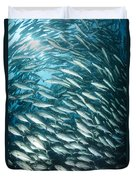 School Of Jacks, Indonesia Duvet Cover