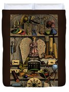 Science In The Nursery, Frontispiece Duvet Cover