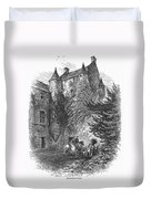 Scotland: Castle Duvet Cover