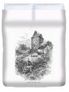 Scotland: Gilnockie Tower Duvet Cover