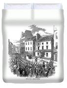 Scotland: Perth, 1848 Duvet Cover