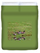 Scott Lake Visitation Duvet Cover