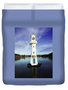 Scott Memorial Lighthouse 2 Duvet Cover