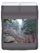 Scripture And Picture Psalm 48 14 Duvet Cover