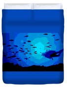 Scuba Dive Duvet Cover