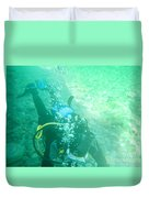 Scuba Diving Duvet Cover