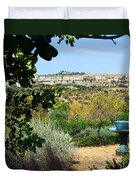 Sculpture Garden In Sicily 2 Duvet Cover