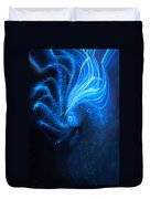 Sea At Night Duvet Cover