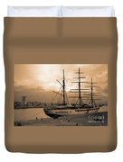 Sea Cloud II Duvet Cover