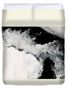Sea Ice In The Southern Ocean Duvet Cover
