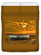 Sea Isle Dawn Duvet Cover