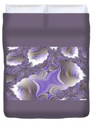 Sea Of Lavender Duvet Cover