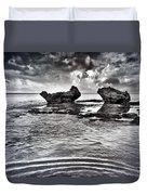 Sea Ripples Duvet Cover