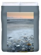 Sea Stones Duvet Cover