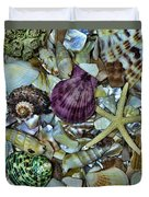 Sea Treasure - Square Format Duvet Cover