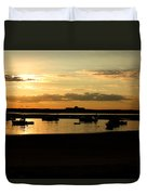 Seabrook At Sunset 1a Duvet Cover