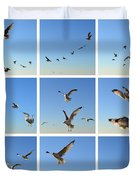 Seagull Collage 2 Duvet Cover