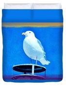 Seagull Fun Colors Duvet Cover
