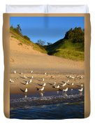 Seagulls At The Bowl Duvet Cover