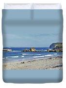 Seal Bay Beach Duvet Cover