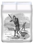 Seal Hunting, 1867 Duvet Cover