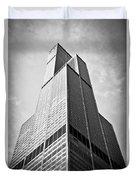 Sears-willis Tower Chicago Duvet Cover by Paul Velgos