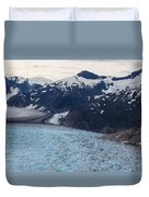 Seas Of Ice Duvet Cover by Mike Reid