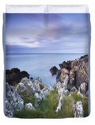 Seascape From Coast Of Clogherhead Duvet Cover