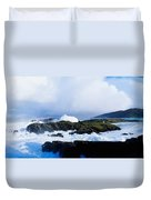 Seascape, West Cork, Ireland Duvet Cover
