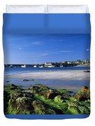 Seashore, Portnablagh, County Donegal Duvet Cover