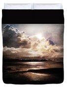 Seaside Cloudscape Duvet Cover
