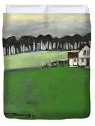 Season Your Home With Love Poster Duvet Cover