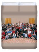 Seattle Archdiocese 2008 Priests. Duvet Cover