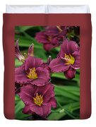 Seattle Blooms  Duvet Cover