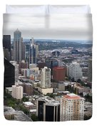 Seattle From The Needle Duvet Cover