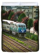 Seattle Sounder Train Duvet Cover