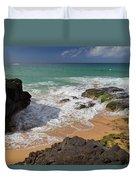 Secret Beach Kauai Duvet Cover