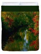 Secret Horse Creek Duvet Cover
