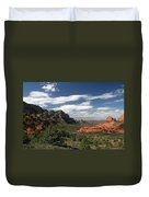 Sedona Arizona Vista Duvet Cover
