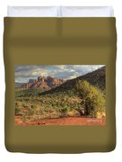 Sedona Red Rock Viewpoint Duvet Cover