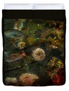 See Of Fossil Three Duvet Cover