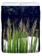 Seedy Grass Duvet Cover