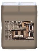 Segovia Spain Duvet Cover