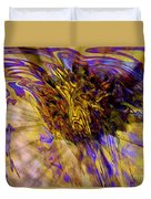 Seize The Day - Abstract Art Duvet Cover