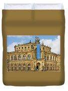 Semper Opera House Dresden Duvet Cover