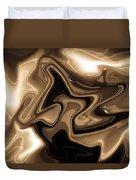 Sepia Art Duvet Cover