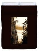 Sepia Sky 2 Duvet Cover