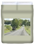 September Roads Duvet Cover